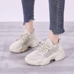 Нет имени торговой марки кроссовки высокого качества, Китайский обычная популярные Женские кроссовки, женщин высокого каблука спорта плоские повседневная обувь