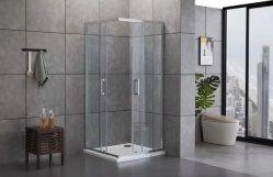 Europese Badkamers 8mm de Glijdende Duidelijke Zaal van de Douche van het Glas