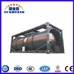 Certificat de CCS Jsx 20ft l'acide méthanesulfonique Tank Container ISO