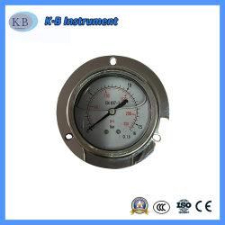 """2.5"""" Y60 60mm em aço inoxidável líquido manométrico Medidor de Pressão de Óleo"""