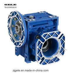 Compacta Transmissão Worm Caixa de velocidades com o peso leve para a indústria