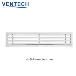 Usine HAVC de gros de la climatisation grille barres linéaires de plafond