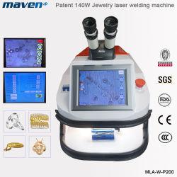 شاشة LCD بقوة 400 واط Mini YAG ماكينة لحام النقاط