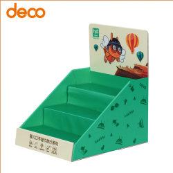 Prateleira de papelão ondulado de retalho Expositor para o Babycare Produto