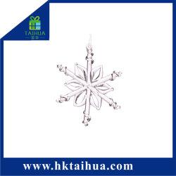 Decorazione all'ingrosso di Natale di cristallo per l'artigianato di vetro di resina