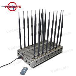 Teléfono celular Jammer para evitar que las señales de peligro Jamming CDMA GSM 3G 4G 5g celular aislante de la señal de teléfono móvil