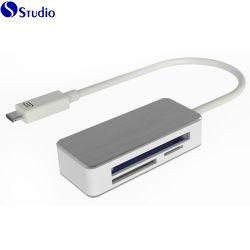 C USB устройства чтения карт памяти для карт памяти SD CF TF карты 3в1 Считывающее устройство карточки