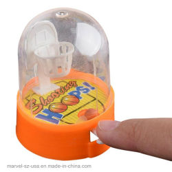 Entrenamiento de baloncesto en el desarrollo de la máquina de mano del reproductor de juguetes niños juguetes de la novedad de descompresión de regalo