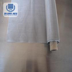 Puede ser personalizado de tejido normal de 100 micras de tela de alambre de acero inoxidable
