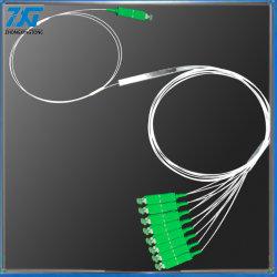 Mini PLC van de Vezel van de Buis van het Staal Optische/Optische Splitser 1X12 met Schakelaar Sc/APC