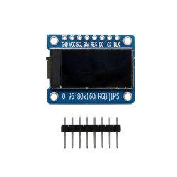 Baugruppe 8pin 0.96 Zoll-80*160 IPS TFT (mit Boden VCC) mit Chip St7735