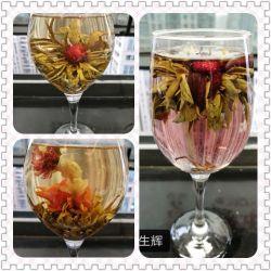 قلب يشكّل [روس] تشكيل زهرة يزهر شاي