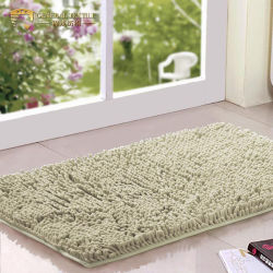 La microfibra Shaggy Chenilla Antideslizantes alfombras de baño Alfombra de Baño (JRL052)
