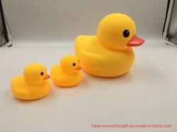 Plastic Gewogen Drijvende Rubbereend, Customized Yellow Bath Duck Voor Promotionele Groothandel