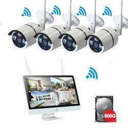 4CH / Inalámbrica de 8 Canales Sistema de cámaras de CCTV Sistema de cámaras de seguridad inalámbrica