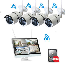 4CH/8つのチャネル無線CCTVのカメラシステム無線保安用カメラシステム