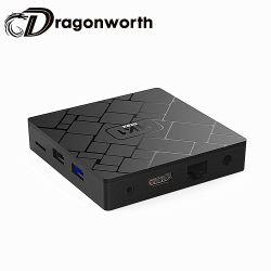 HK1 الحد الأقصى Rk3328 4G المنتج الأفضل مبيعًا في الصين 32 جم تلفزيون Rk3328 بنظام Android رباعي النواة بوضوح عال كامل 1080 مجموعة الرقاقات الرباعية صندوق أعلى