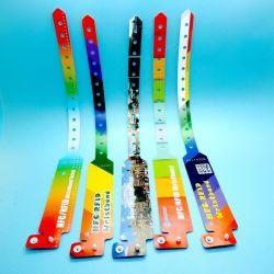 Impression couleur MIFARE jetables Classic 1K étanche bracelet RFID