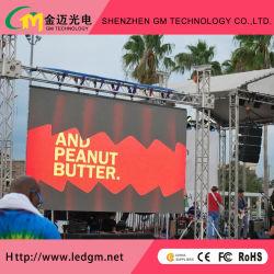 На заводе прямой продажи P4.81 SMD открытый полноцветный светодиодный экран панели управления аренды
