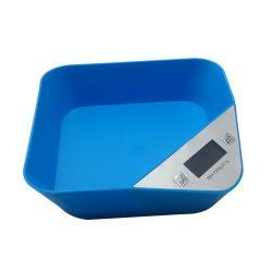 Scala postale elettronica portatile di dieta di alimento dell'equilibrio del peso della scala della cucina di Digitahi con la scala elettronica dell'alimento di Digitahi della ciotola