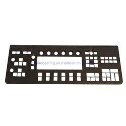 L'ad alta pressione in lega di zinco su ordinazione del pezzo fuso di alluminio del computer portatile del calcolatore la tastiera della pressofusione