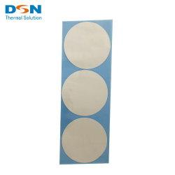 Isolador de computador almofada de borracha de silicone térmica do material eléctrico a China