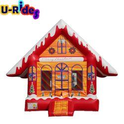 Гигантские каркасных надувных судов Санта-Клаус Рождество Bouncer для продажи