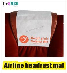 Poggiacapo biodegradabile a gettare di linea aerea di SMS/PP/nonwoven