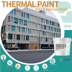 Zanshare Thermal Insulation Coatings Energy Saving Real Stone 장식용 벽 스프레이 절연 페인트