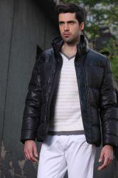 Anel de suporte de Lazer Negócios homens Inverno e outono jaqueta para baixo simples e elegante cor sólida de vestuário