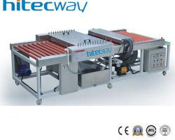 Bester Verkaufs-horizontaler Pinsel-Glasreinigung und Trockner-Maschine