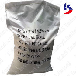 Fosfato de sódio dodeca-hidratado (TSP. 12H2O) Grau industrial