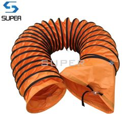 Inarcamento che coppia il condotto flessibile compressibile del ventilatore per il ventilatore portatile del ventilatore