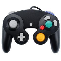 新しい任天堂Ngc GamecubeのGCのジョイスティックGamepadのためのGCによってワイヤーで縛られるゲームのコントローラ