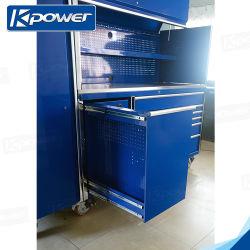 Chapa de aço Workshop de garagem para armário de ferramentas, a caixa de ferramenta, ferramenta caixa torácica