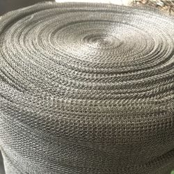 304 316 스테인리스 서리 제거 장치를 위한 길쌈된 뜨개질을 한 철망사