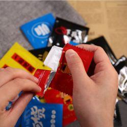 유행성 상황 반대로 바이러스 주문을 받아서 만들어진 로고를 가진 처분할 수 있는 HDPE 비닐 장갑을%s 좋은 선전용 선물