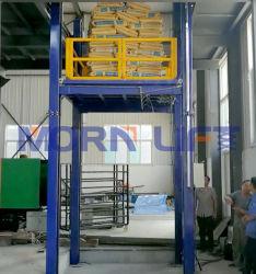 油圧ガイドレール貨物輸送リフトプラットフォーム(倉庫メザニン用) 建物