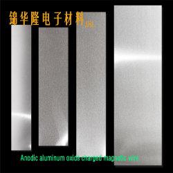 Lámina de aluminio anodizado de película de óxido de aluminio aislados / Bobina de cinta de película de óxido de aluminio / Cable plano de la bobina bobinado / película de óxido de aluminio / Bobina de óxido de aluminio