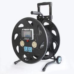 4000W Электрический удлинитель кабеля питания складной пустой небольшой кабель мотовила