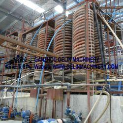 المعادن الثقيلة Zircon Sand Iron Ore Processing Gravity Machine
