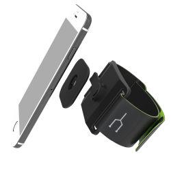 La ejecución de material ABS de montaje de Pulsera Brazalete soporte para teléfono