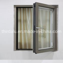 Casement Metal Alumínio/vidro corrediço da porta/grelhador de ferro Design/material de construção