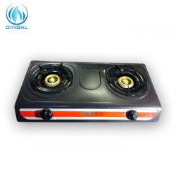 부엌 가전용품 두 배 가열기 자동적인 점화 가스 레인지 (DS-GS201N)