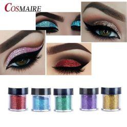 Commerce de gros oeil cosmétiques en vrac Glitter Glitter maquillage Fard à paupières en poudre