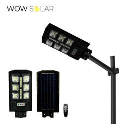 ضوء LED الشارع الشمسيه IP65 مقاومة للماء 50 واط أضواء شمسية مستشعر رادار ضوء LED الخارجي