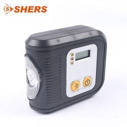 Lichtgewicht draagbare 12V Smart Air compressor Car Tire Digital Pomp met klein pompinflator voor banden en kleine uitvoering, pomp met LED Licht