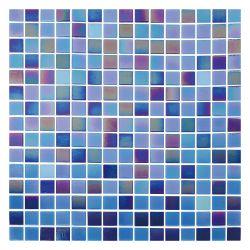 Iridescent Crystal стеклянной мозаики 20x20мм синий Китай кухня мозаика плитки стеклянной мозаики