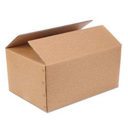 Benutzerdefinierte Logo Druck Falten Flache Wellpappe Karton Versand / Versandanzeige/Postfach