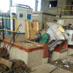 Sciacolatrice a induzione in acciaio inox con capacità di 200 kg